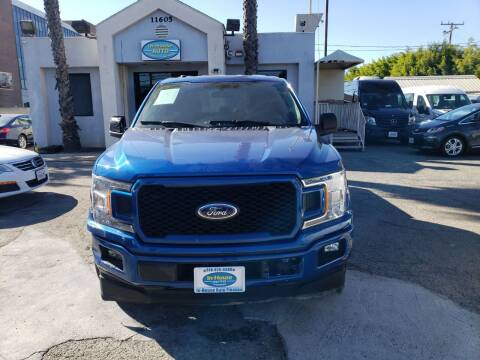 2018 Ford F-150 for sale at In-House Auto Finance in Hawthorne CA