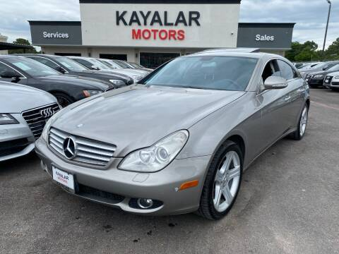 2006 Mercedes-Benz CLS for sale at KAYALAR MOTORS in Houston TX