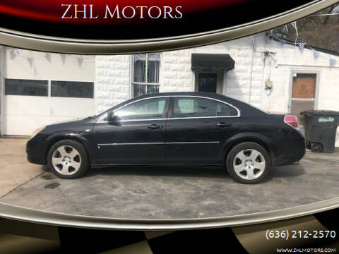 2007 Saturn Aura for sale at ZHL Motors in House Springs MO