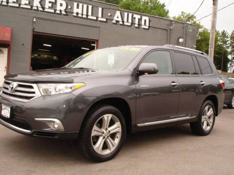 2013 Toyota Highlander for sale at Meeker Hill Auto Sales in Germantown WI