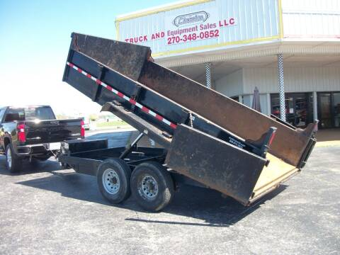 2012 14 ft End Dump Trailer for sale at Classics Truck and Equipment Sales in Cadiz KY