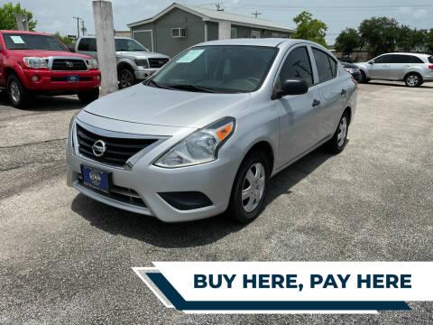 2015 Nissan Versa for sale at H3 MOTORS in Dickinson TX