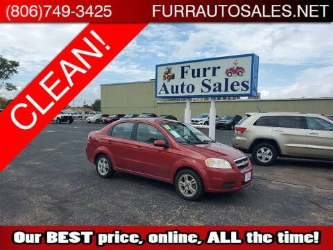 2011 Chevrolet Aveo for sale at FURR AUTO SALES in Lubbock TX