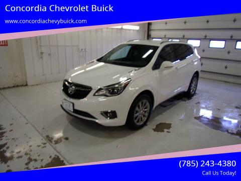 2020 Buick Envision for sale at Concordia Chevrolet Buick in Concordia KS