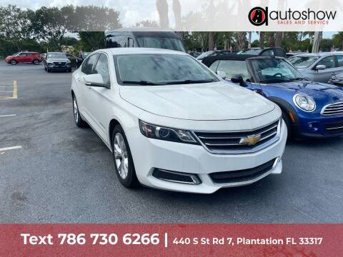 2015 Chevrolet Impala for sale at AUTOSHOW SALES & SERVICE in Plantation FL