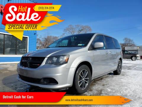 2016 Dodge Grand Caravan for sale at Detroit Cash for Cars in Warren MI