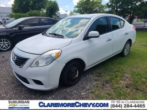2012 Nissan Versa for sale at Suburban Chevrolet in Claremore OK