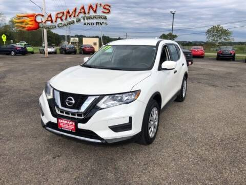 2017 Nissan Rogue for sale at Carmans Used Cars & Trucks in Jackson OH