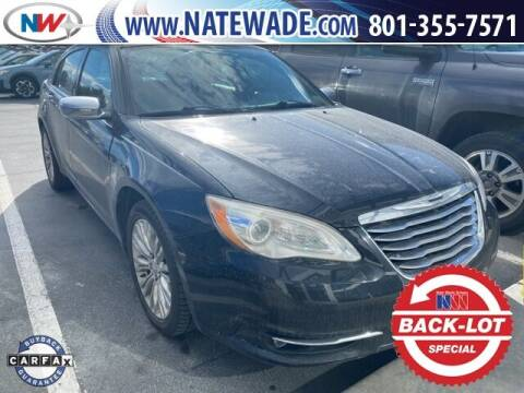 2011 Chrysler 200 for sale at NATE WADE SUBARU in Salt Lake City UT