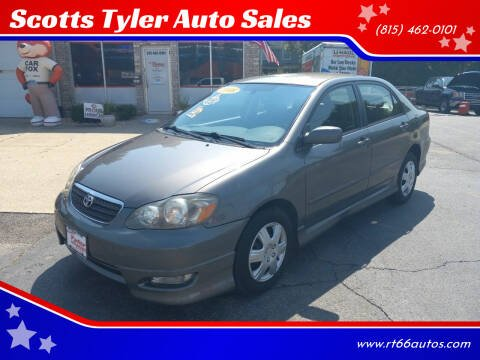 2008 Toyota Corolla for sale at Scotts Tyler Auto Sales in Wilmington IL
