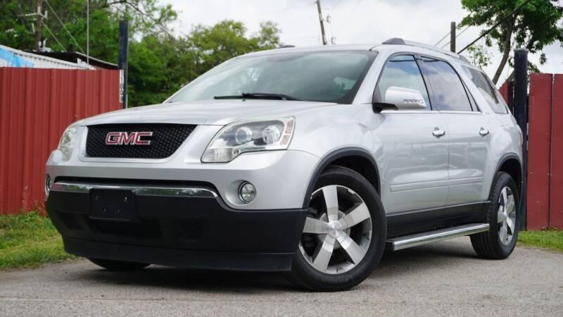 2011 GMC Acadia for sale at Hidalgo Motors Co in Houston TX
