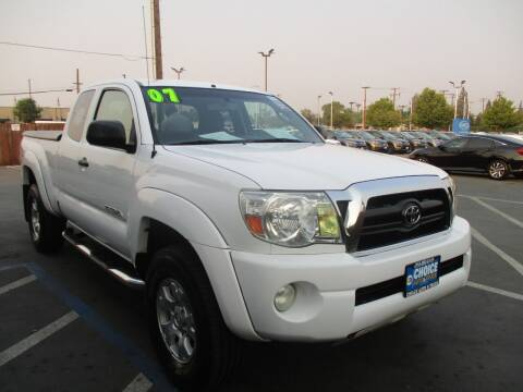 2007 Toyota Tacoma for sale at Choice Auto & Truck in Sacramento CA
