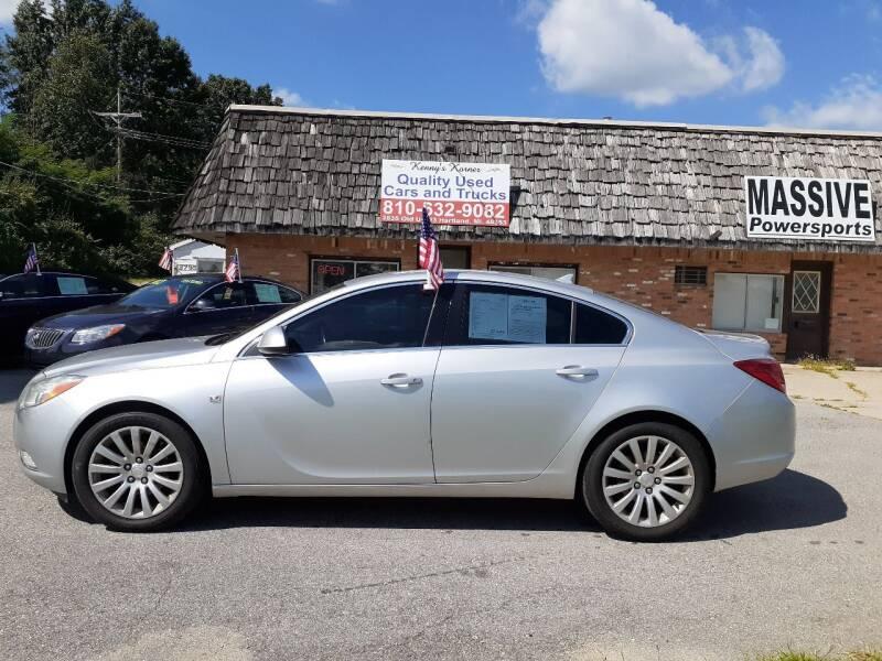 2011 Buick Regal for sale at Kenny's Korner in Hartland MI