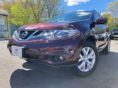 2014 Nissan Murano for sale at Mega Motors in West Bridgewater MA