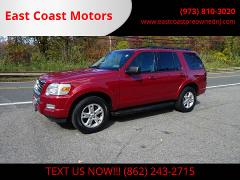 2010 Ford Explorer for sale at East Coast Motors in Lake Hopatcong NJ