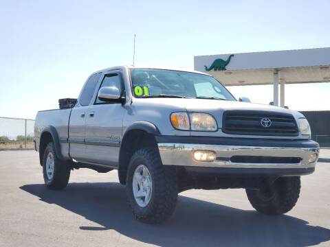 2001 Toyota Tundra for sale at FRESH TREAD AUTO LLC in Springville UT