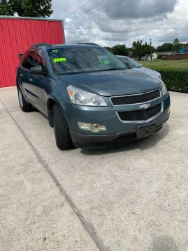 2009 Chevrolet Traverse for sale at PICAZO AUTO SALES in South Houston TX