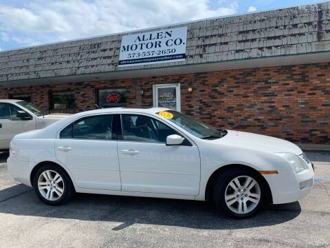 2008 Ford Fusion for sale at Allen Motor Company in Eldon MO