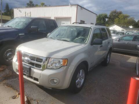 2008 Ford Escape for sale at J & J Used Cars inc in Wayne MI