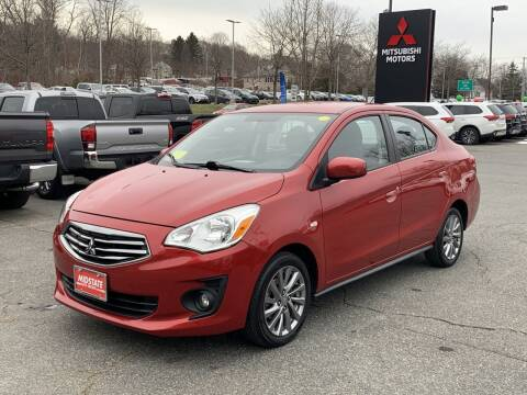 2019 Mitsubishi Mirage G4 for sale at Midstate Auto Group in Auburn MA