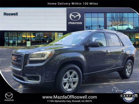 2015 GMC Acadia for sale at Mazda Of Roswell in Roswell GA