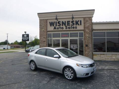 2010 Kia Forte for sale at Wisneski Auto Sales, Inc. in Green Bay WI