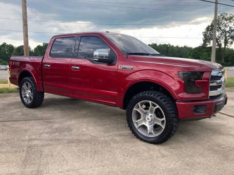 2015 Ford F-150 for sale at A & H Auto Sales in Clanton AL
