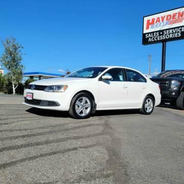 2013 Volkswagen Jetta for sale at Hayden Cars in Coeur D Alene ID