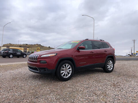 2016 Jeep Cherokee for sale at 1st Quality Motors LLC in Gallup NM