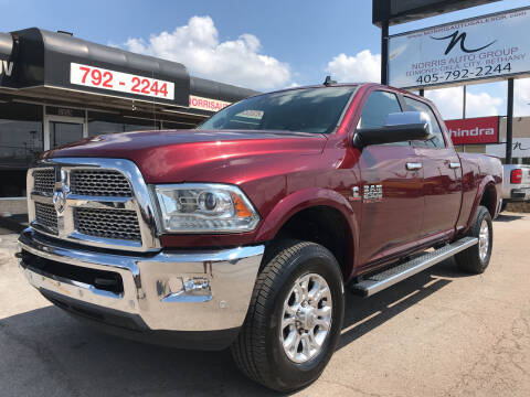 2017 RAM Ram Pickup 2500 for sale at NORRIS AUTO SALES in Oklahoma City OK