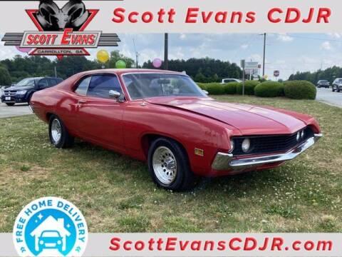 1970 Ford Torino for sale at SCOTT EVANS CHRYSLER DODGE in Carrollton GA