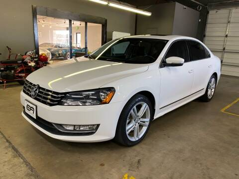2014 Volkswagen Passat for sale at EA Motorgroup in Austin TX