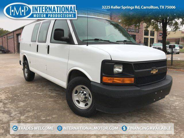 2017 Chevrolet Express Cargo for sale at International Motor Productions in Carrollton TX