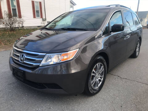 2012 Honda Odyssey for sale at D'Ambroise Auto Sales in Lowell MA