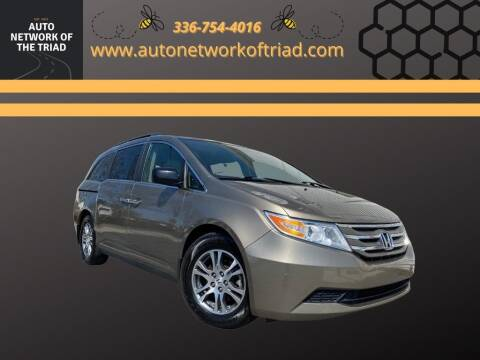 2013 Honda Odyssey for sale at Auto Network of the Triad in Walkertown NC