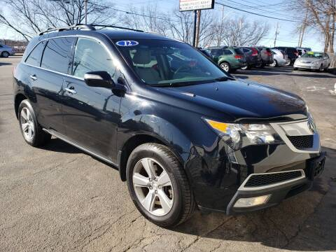 2012 Acura MDX for sale at Real Deal Auto Sales in Manchester NH