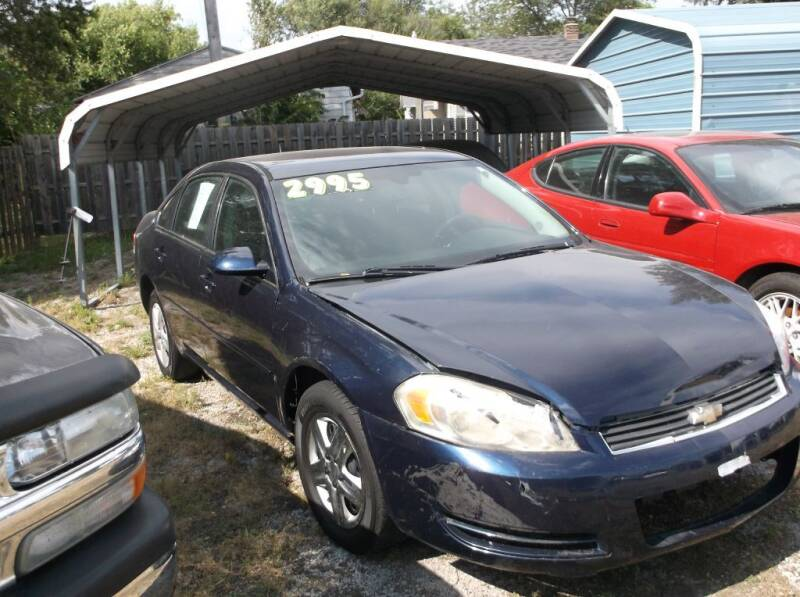 2007 Chevrolet Impala for sale at Straight Line Motors LLC in Fort Wayne IN