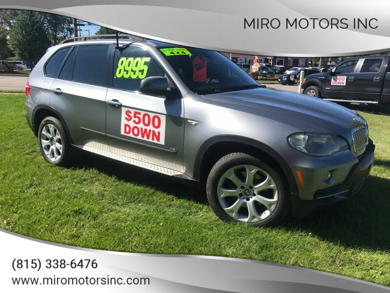 2008 BMW X5 for sale at Miro Motors INC in Woodstock IL