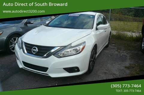 2018 Nissan Altima for sale at Auto Direct of South Broward in Miramar FL