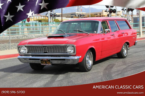 1969 Ford Falcon for sale at American Classic Cars in La Verne CA