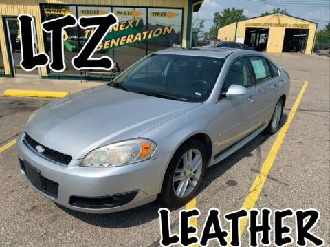 2013 Chevrolet Impala for sale at RPM AUTO SALES in Lansing MI