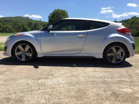 2013 Hyundai Veloster Turbo for sale at Tennessee Valley Wholesale Autos LLC in Huntsville AL