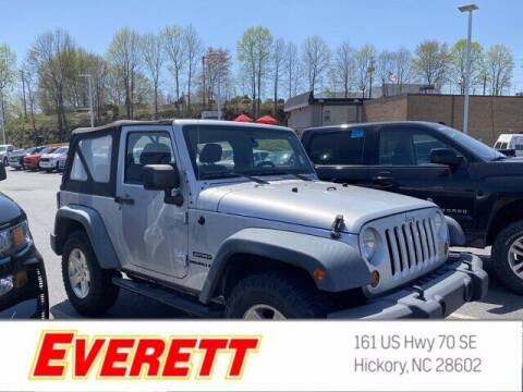 2012 Jeep Wrangler for sale at Everett Chevrolet Buick GMC in Hickory NC