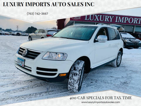 2007 Volkswagen Touareg for sale at LUXURY IMPORTS AUTO SALES INC in North Branch MN