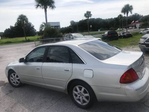 2002 Toyota Avalon for sale at GOLDEN GATE AUTOMOTIVE,LLC in Zephyrhills FL