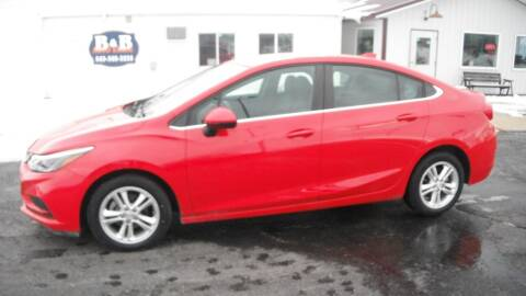 2017 Chevrolet Cruze for sale at B & B Sales 1 in Decorah IA