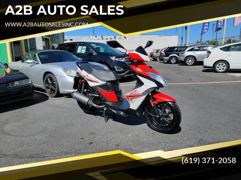 2014 Kymco SUPER 8 for sale at A2B AUTO SALES in Chula Vista CA