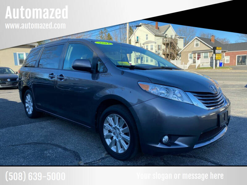 2011 Toyota Sienna for sale at Automazed in Attleboro MA