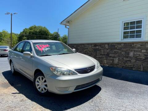 2006 Toyota Camry for sale at No Full Coverage Auto Sales in Austell GA