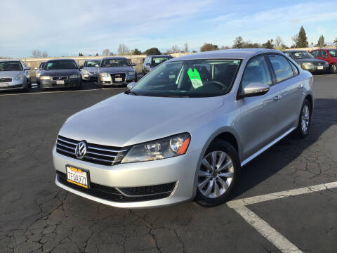 2012 Volkswagen Passat for sale at My Three Sons Auto Sales in Sacramento CA